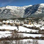 Satué nevado