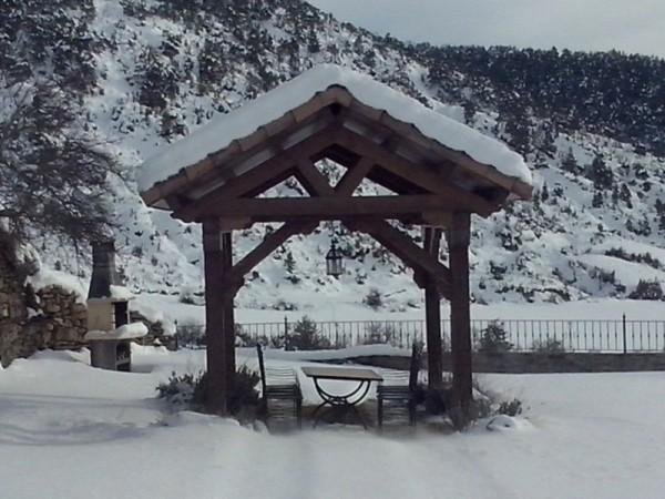 Foto cenador borda las casas de satu casas rurales - Casas del pirineo ...